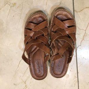 Josef seibel brown strappy sandals